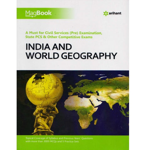 Magbook Indian & World Geography, (English)