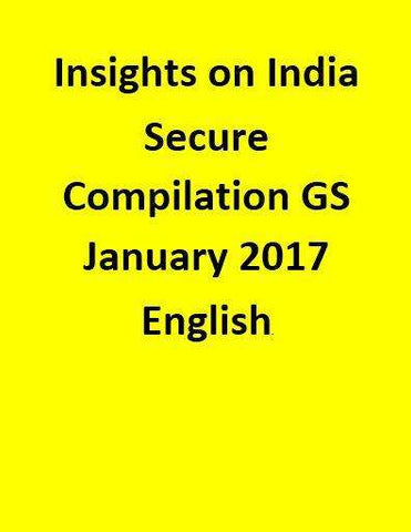 Insights on India – Secure Compilation – GS – January 2017