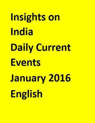 Insights on India – Daily Current Events – January 2016