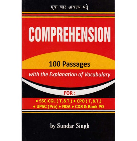 Comprehension 100 Passages with the Explanation of Vocabulary