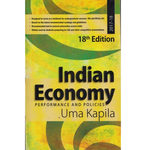 Indian Economy, Performance and Politics 18th Edition (English)