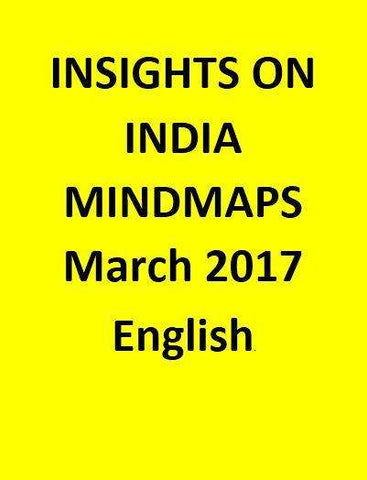 INSIGHTS ON INDIA – MINDMAPS – March 2017