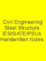 Civil Engineering Steel Structure  IES/GATE/PSUs  Handwritten Notes N