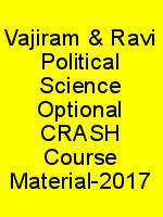 Vajiram & Ravi Political Science Optional CRASH Course Material-2017 N
