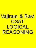 Vajiram & Ravi CSAT LOGICAL REASONING N