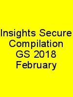 Insights Secure Compilation GS 2018 February N