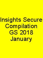 Insights Secure Compilation GS 2018 January N