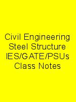 Civil Engineering Steel Structure IES/GATE/PSUs Class Notes N