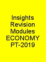 Insights Revision Modules ECONOMY PT-2019 N