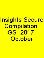 Insights Secure Compilation  GS  2017  October N