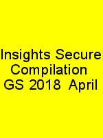 Insights Secure Compilation  GS 2018  April N