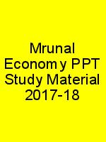Mrunal Economy PPT Study Material 2017-18 N