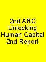 2nd ARC Unlocking Human Capital 2nd Report N