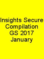 Insights Secure Compilation GS 2017 January N