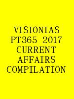 VISIONIAS PT365 2017 CURRENT AFFAIRS COMPILATION N