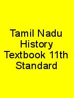 Tamil Nadu History Textbook 11th Standard N
