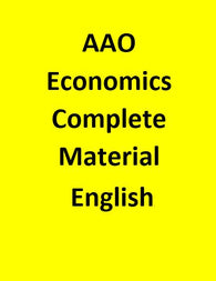 AAO Economics Complete Material - English