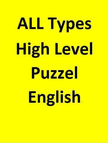 ALL Types High Level Puzzel - English