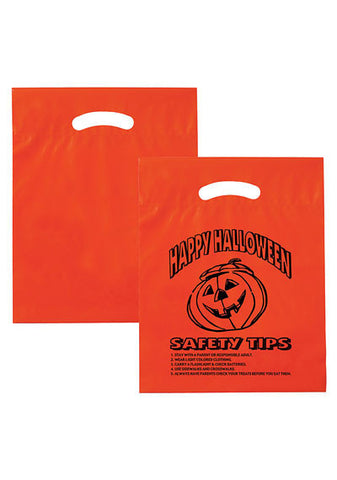 Stock Design Halloween Fold-Over Reinforced Die Cut Bag in Bulk, Wholesale - 13H12153