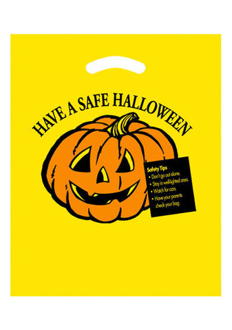 Stock Design Halloween Die Cut Bag in Bulk, Wholesale - 13HY1215