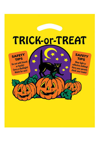 Stock Design Halloween Die Cut Bag in Bulk, Wholesale - 13YP1215