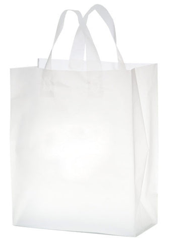 Clear Frosted Soft Loop Shopper Bag - 19FSC10513