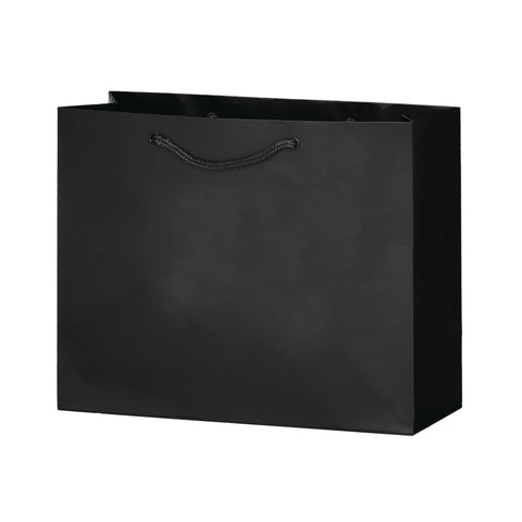 MATTE LAMINATED EURO TOTE BAG |9X3X7| - 2ML937