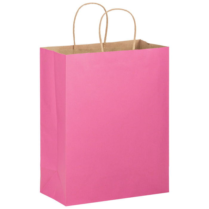 MATTE COLOR TWISTED PAPER HANDLE SHOPPER - 4M10513BCA