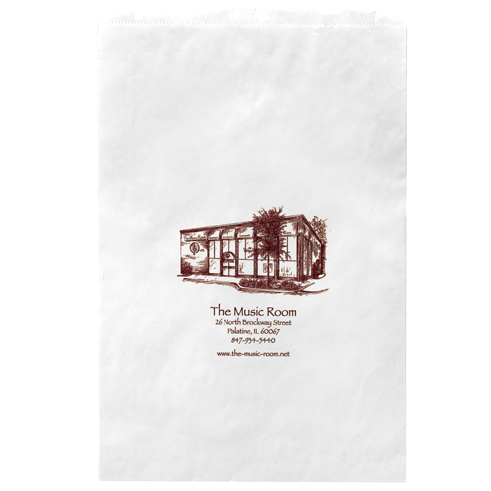 WHITE KRAFT MERCHANDISE BAG - 5M16324W
