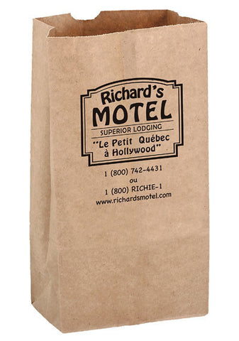 Natural Kraft 10# Grocery Bag in Bulk Wholesale - 6G10N