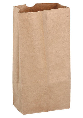Natural Kraft 2# Grocery Bag in Bulk Wholesale - 6G2N