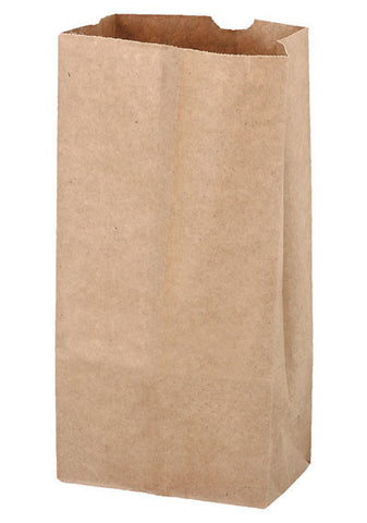 Natural Kraft 4# Grocery Bag in Bulk Wholesale - 6G4N