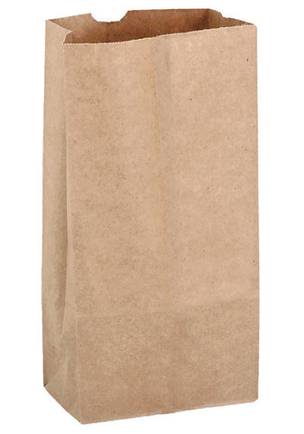 Natural Kraft 8# Grocery Bag in Bulk Wholesale - 6G8N