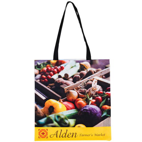 P.E.T. NON-WOVEN SUBLIMATED TOTE BAG - SUB1516