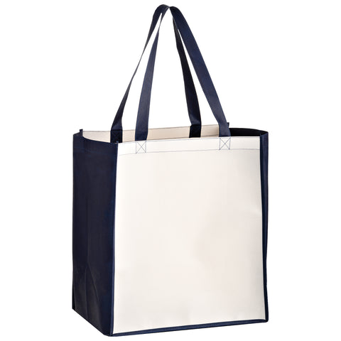 OPP LAMINATED NON-WOVEN SUBLIMATED GROCERY BAG - SUBL131015