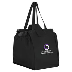 THE CLAW - NON-WOVEN GROCERY CART BAG (BAG HOOKS OPENED INSIDE SHOPPING CART) - CLAW