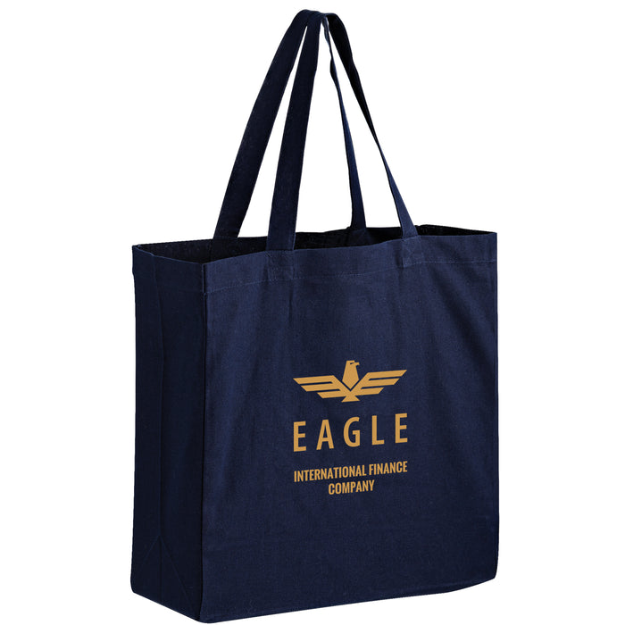 COLOR COTTON CANVAS TOTE BAG - Wholesale - Bulk - |13X5X13| - CNC13513