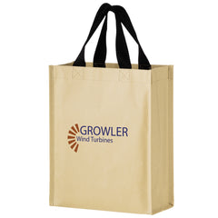 NON-WOVEN HYBRID TOTE WITH PAPER EXTERIOR - MACK9