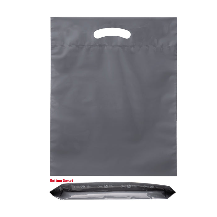 OXO REUSABLE FOLD-OVER REINFORCED DIE CUT BAG |15X18X3| - 12BD1518