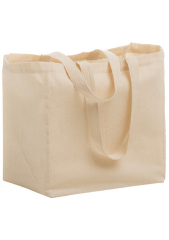 Cotton Canvas Grocery Tote Bag - Bulk - CN12813