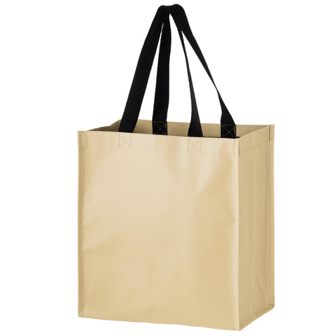 CNON-WOVEN HYBRID TOTE WITH PAPER EXTERIOR - MACK12