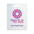 BREAST CANCER AWARENESS DIE CUT BAG WITH STOCK DESIGN AND CUSTOMIZATION - 12DC1215P