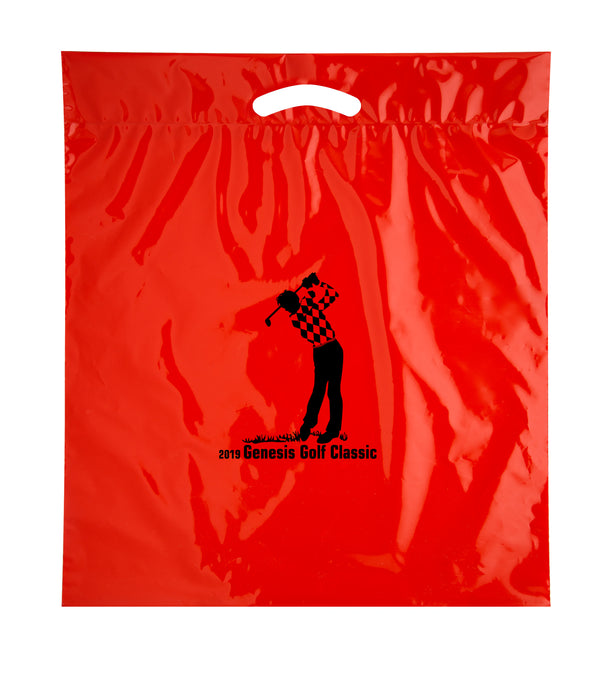 Fold Over Reinforced Die Cut Bag Bulk Wholesale - 12DC2022