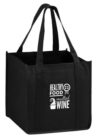 The Cube - Carry Out Tote Bag with Poly Board Insert in Bulk, Wholesale