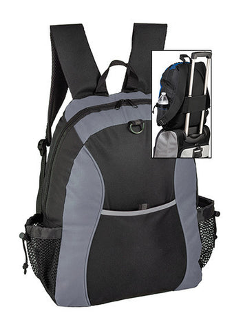 600-Denier Polyester Backpack with Adjustable Padded Straps - EB1418