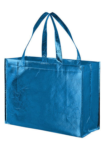 Metallic Gloss Designer Tote Bag with Smooth Finish in Bulk Wholesale - LM16612