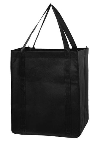 Recession Buster Non Woven Grocery Tote Bag with Poly Board Insert in Bulk Wholesale - RB131015