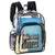 CLEAR VINYL BACKPACK WITH PADDED STRAPS - STB1217