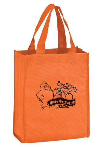 Stock Design Halloween Non Woven Tote Bag in Bulk, Wholesale - Y2K8410G