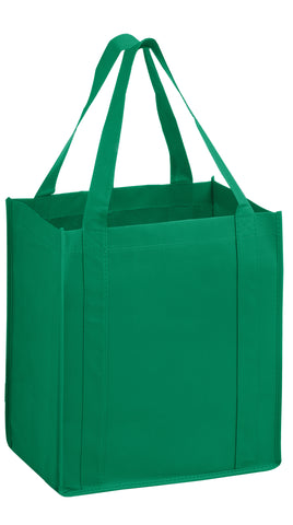 HEAVY DUTY NON-WOVEN GROCERY TOTE BAG WITH POLY BOARD INSERT - Y2KG131015